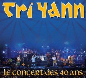 Tri Yann: la couverture et la date de sortie du CD/DVD live dans Actus concert40ans-300x270